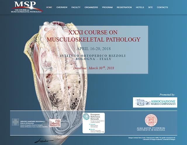 Associazione Mario Campanacci organizza il corso Musculoskeletal Pathology